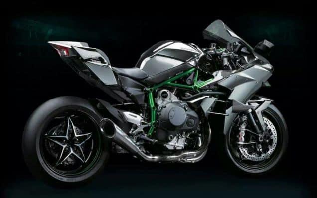 Kawasaki H2 Side View