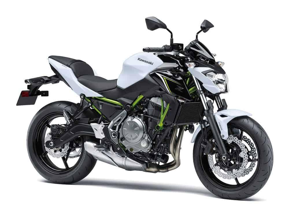 Kawasaki Z650 Side On