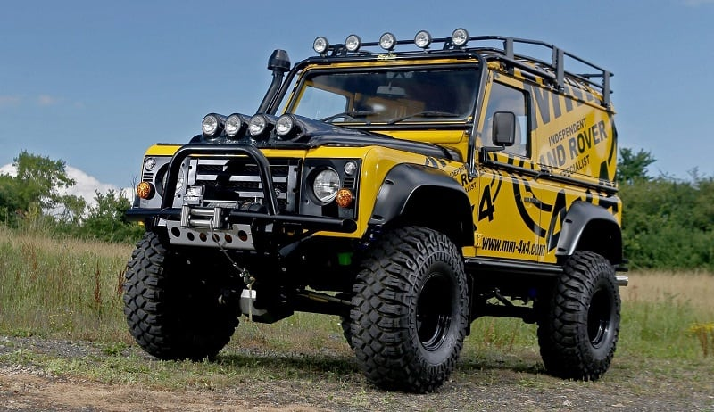 Lifted Land Rover Discovery