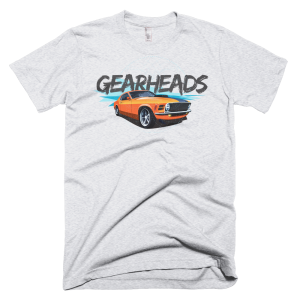 Gearheads Muscle - Ash Grey