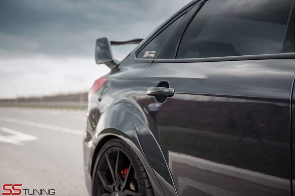 Focus ST Sedan Rear Quarter