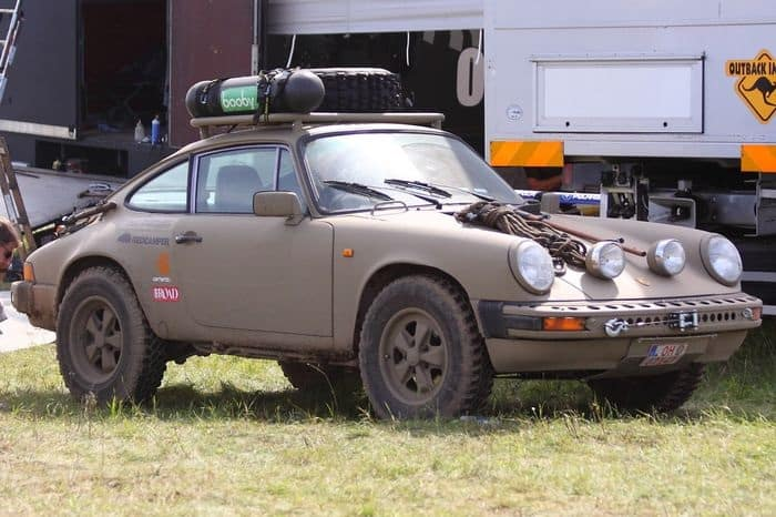 lifted off road cars Porsche 911