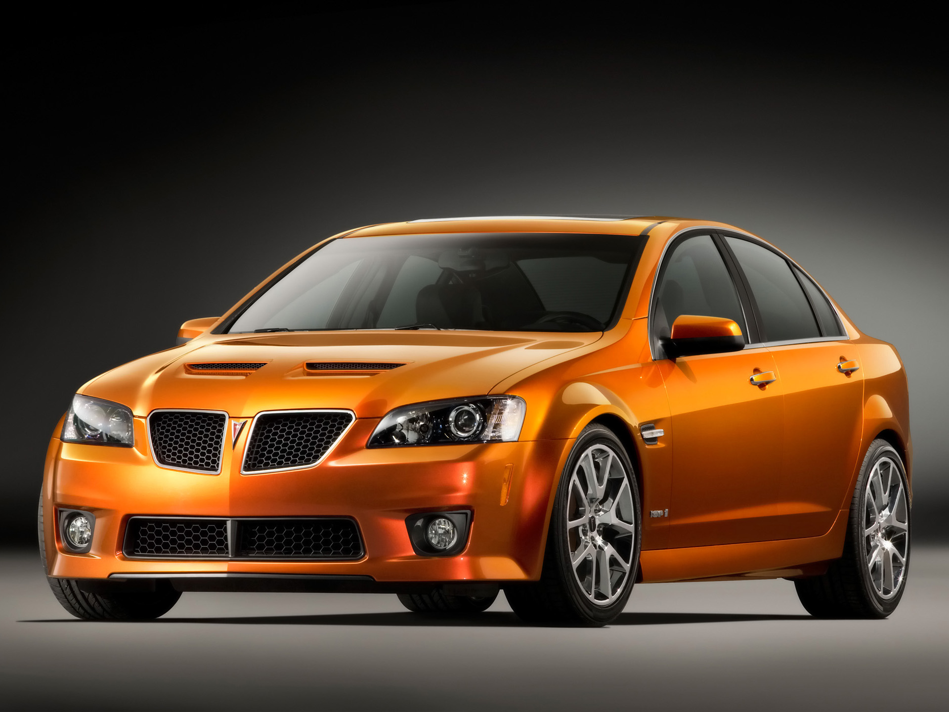 2009 Pontiac G8 GXP. X09PN_G8004 (United States)