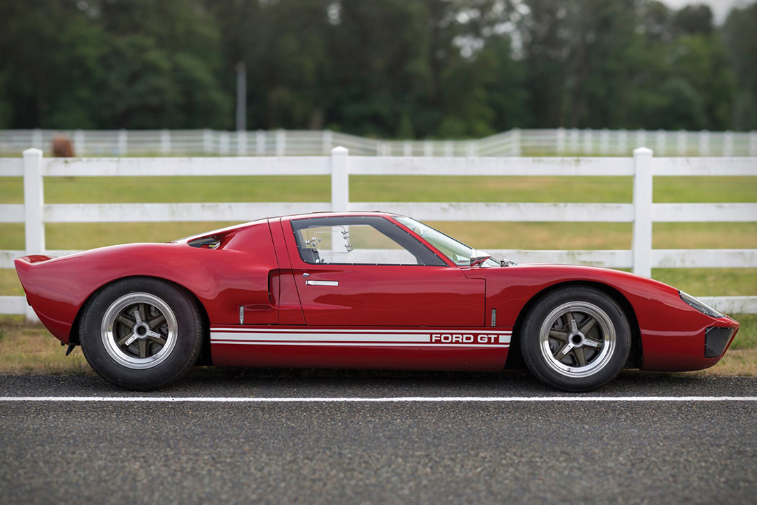 Ford Racing Parts >> Meticulously Restored 1966 Ford GT40 MK 1