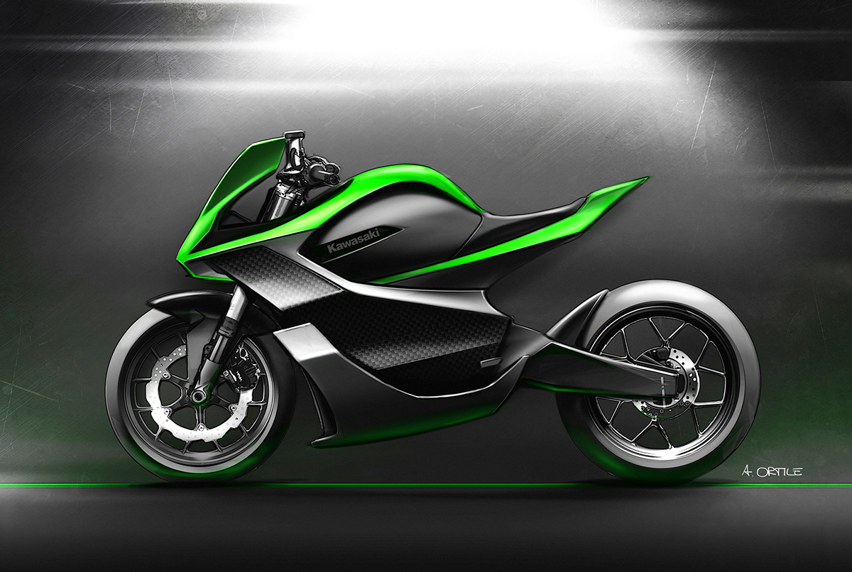 would you ride an electric kawasaki ninja. Black Bedroom Furniture Sets. Home Design Ideas