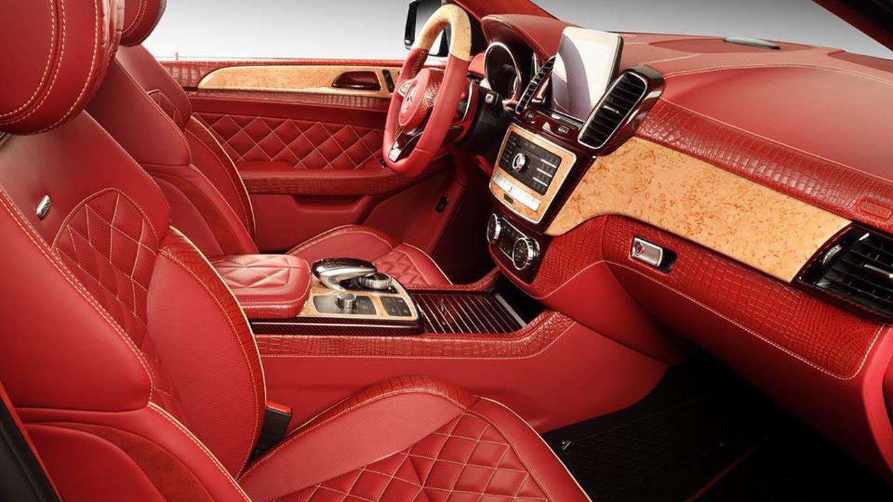 Mercedes GLE Coupe Interior 3