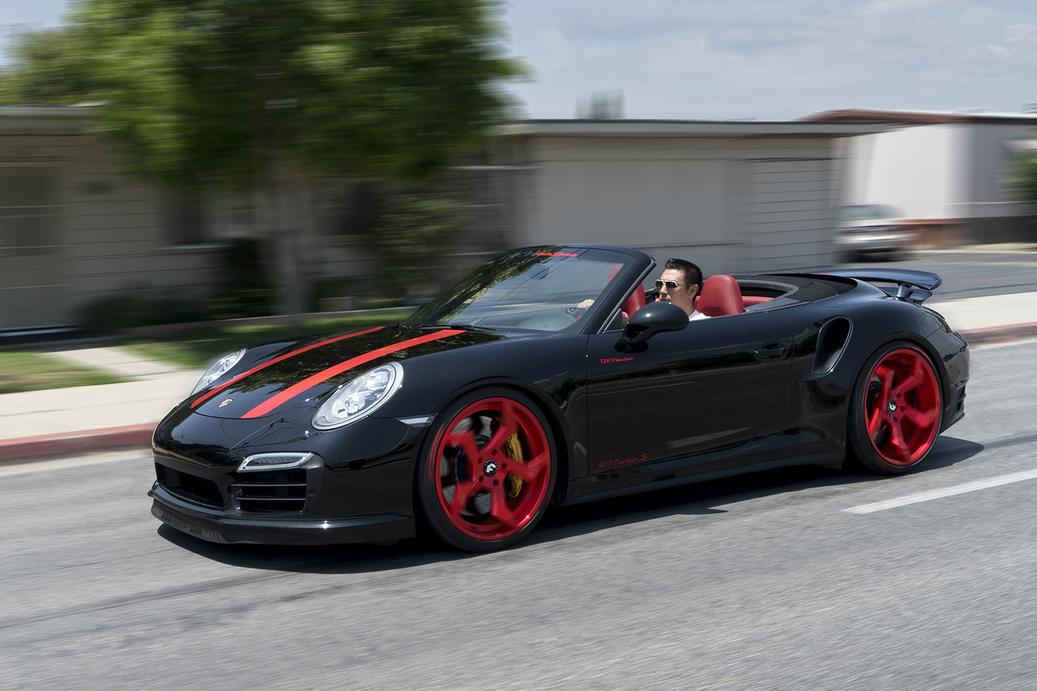 ninja style wheels come to the topless porsche 911 turbo s. Black Bedroom Furniture Sets. Home Design Ideas