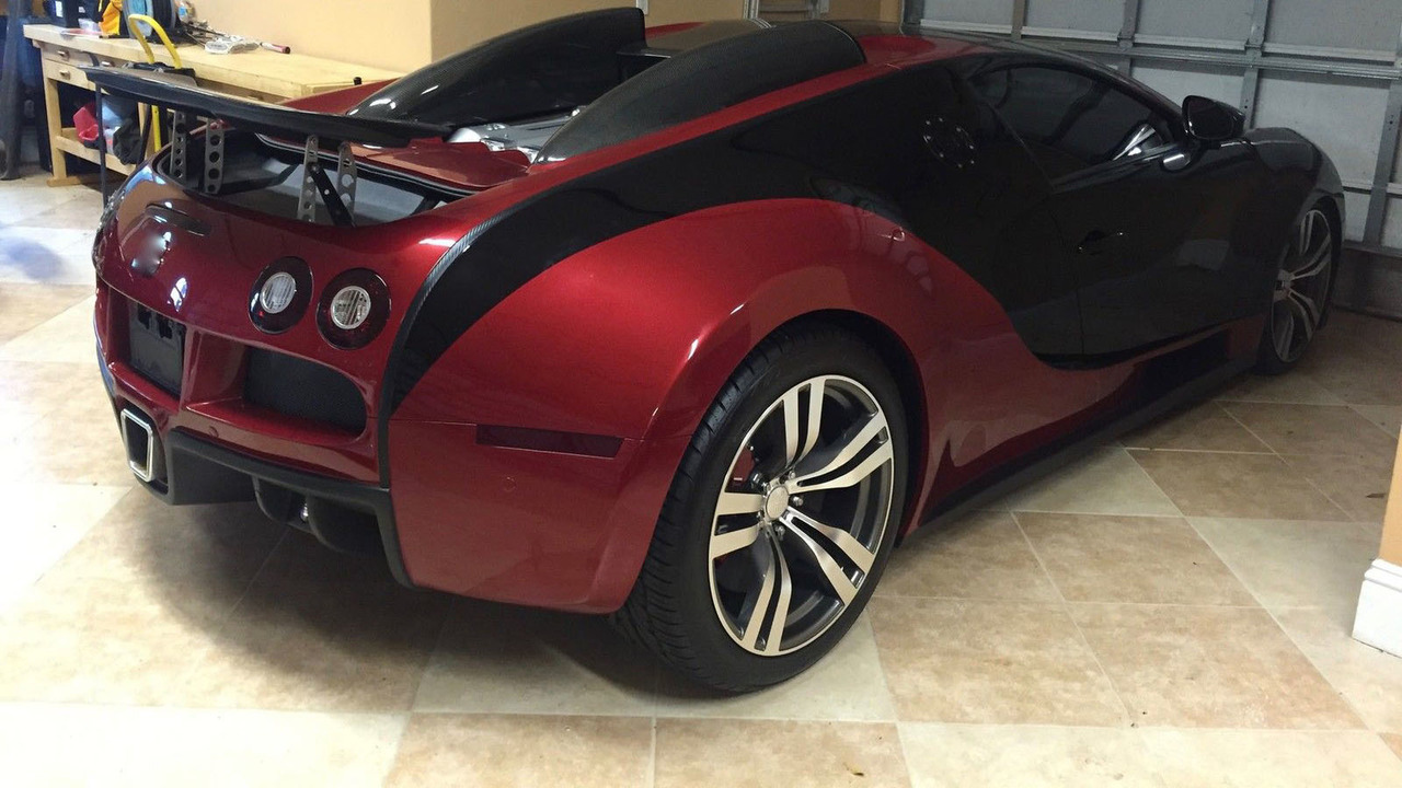 bugatti veyron available on ebay for only 125 000. Black Bedroom Furniture Sets. Home Design Ideas