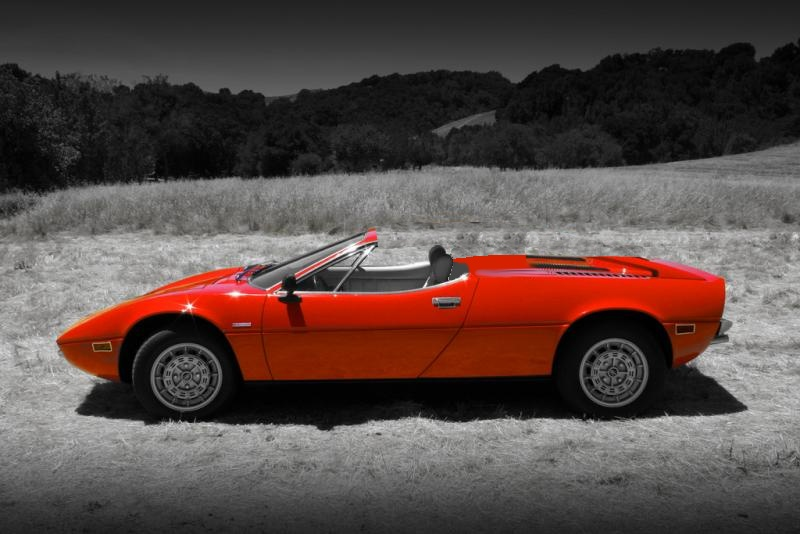 the maserati Merak Spider should be on your dream cars list