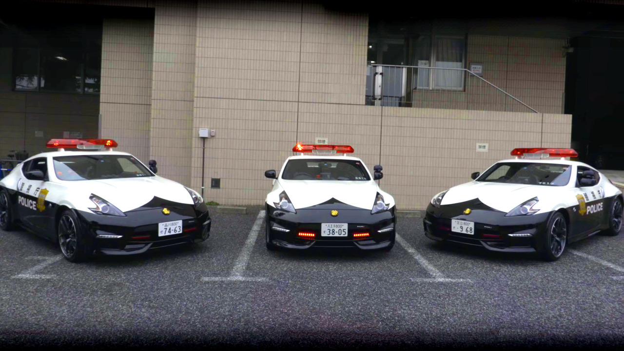 Patrol Nismo >> Japanese Police Buying at Home - Using Nissan 370Z Nismo ...