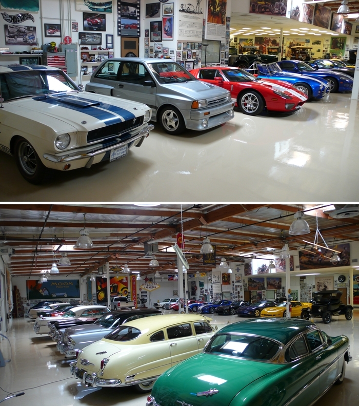 #1. Jay Leno Celebrity Car Collections