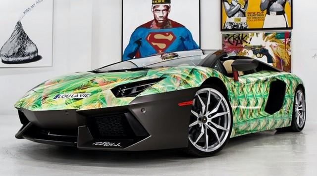 #1. Lamborghini Aventador