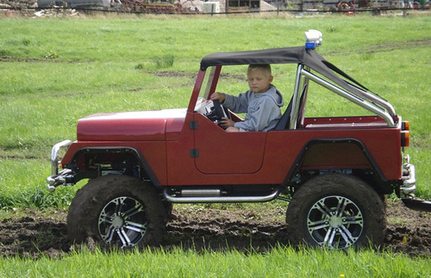 #14. Mini Jeep Wrangler