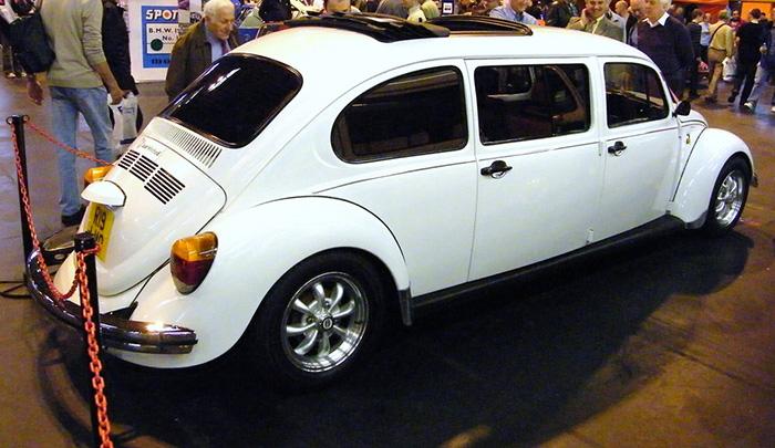 #19. Volkswagen Beetle Limo