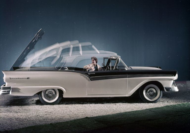 Ford Skyliner: The Leader of the Hardtop Convertible