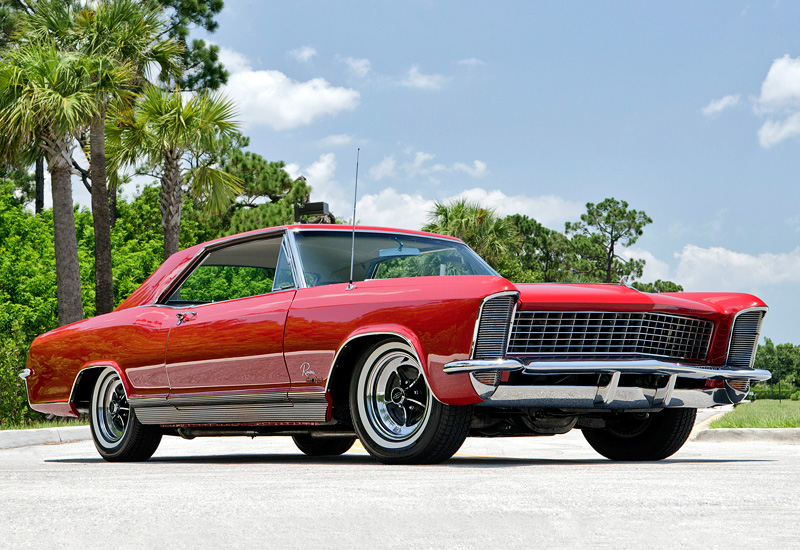 1965 Buick Riviera GS; top car design rating and specifications