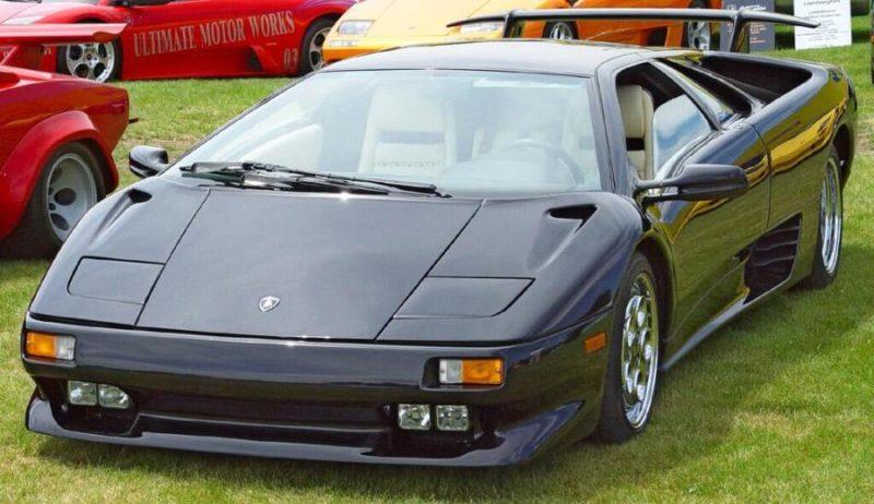 Cars With Pop Up Headlights: Lamborghini Diablo