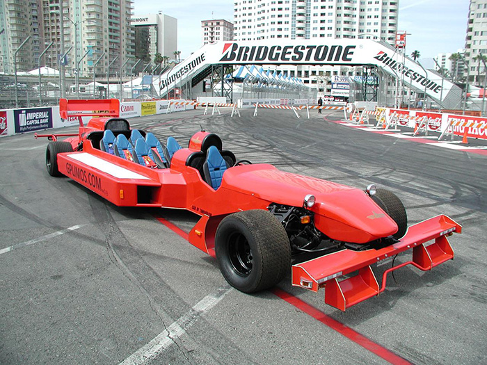 #2. F1 Grand Prix Racing Limo