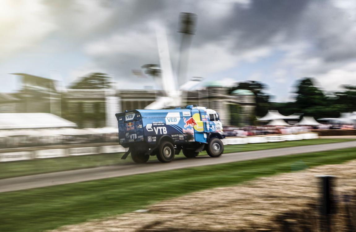 20,000lb Red Bull Kamaz Dakar truck by Harniman Photographer