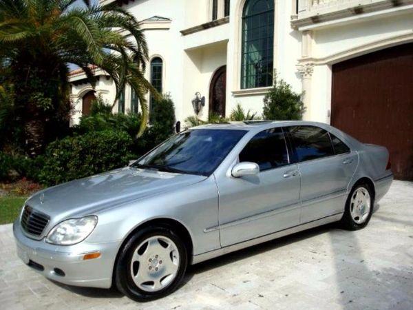 2001 Mercedes Benz s600