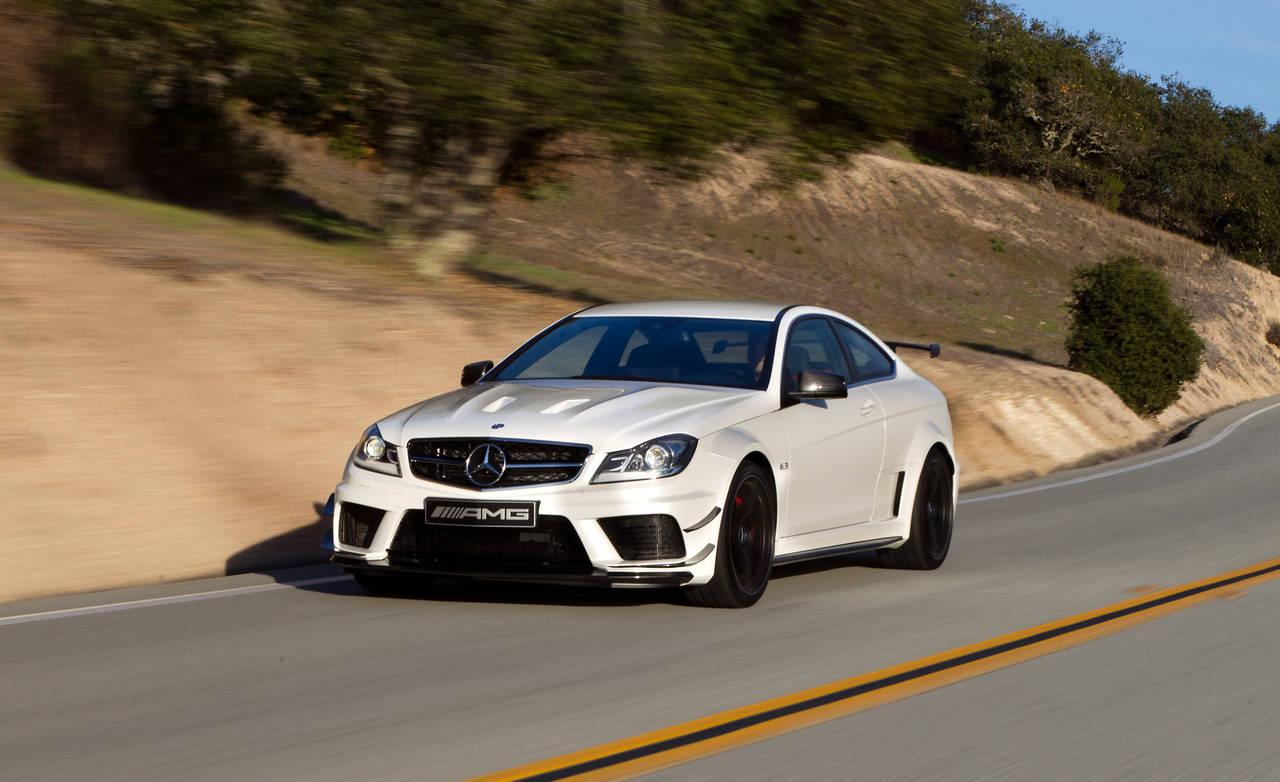 12 performance edition sports cars equally great on track and on the road - 2012 mercedes c63 amg coupe ...