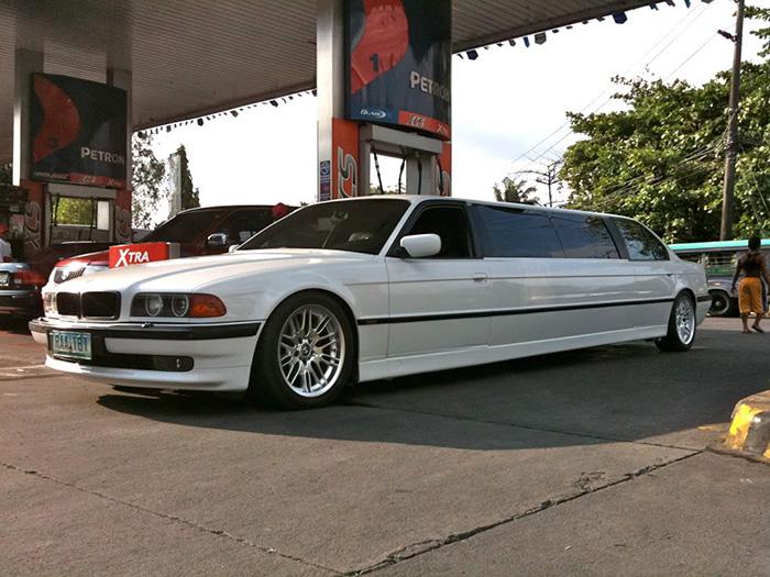 #23. BMW Limo