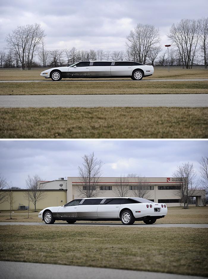 #3. Chevrolet Corvette Limo