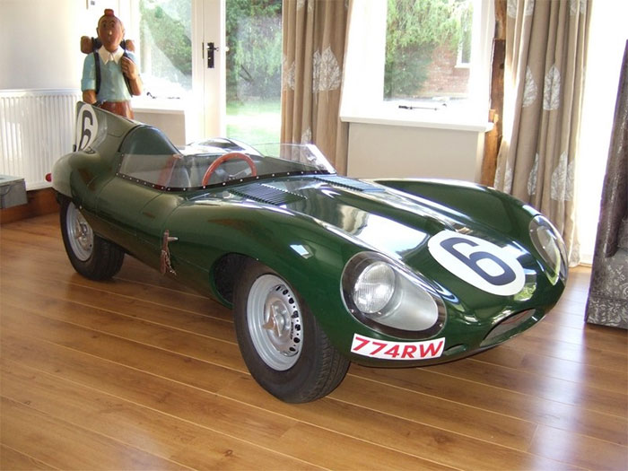 #30. Mini Jaguar D Type Convertible