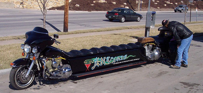 #5. The Anaconda Motorcycle Limo