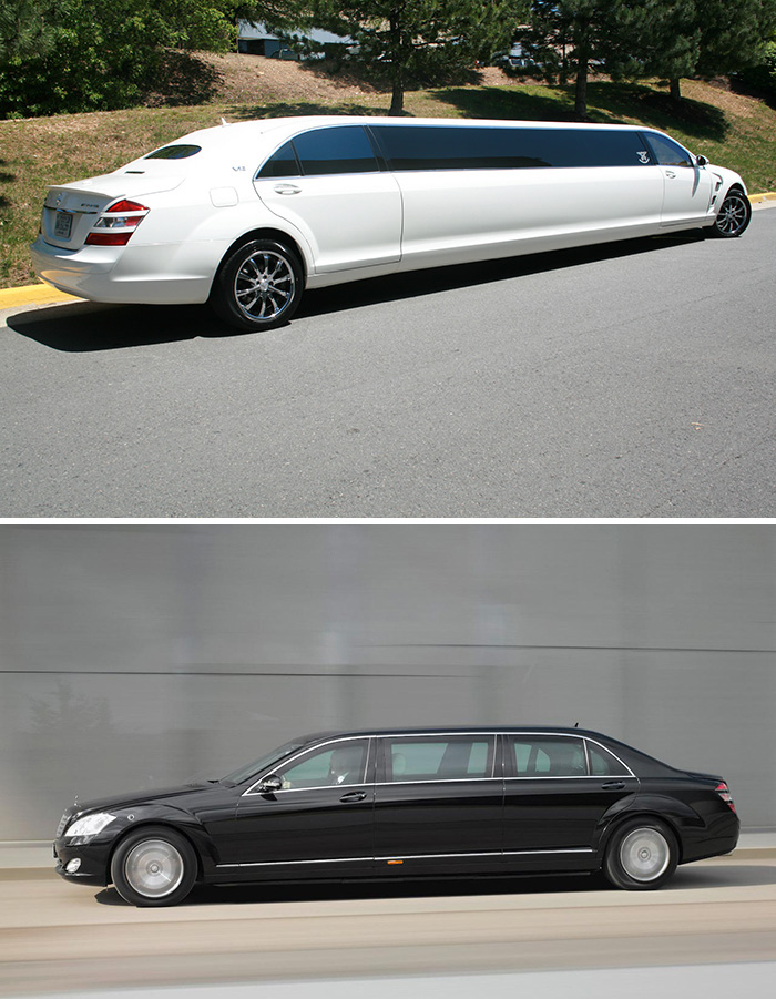 #6. Mercedes S600 Limo