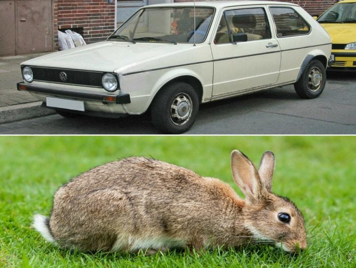 #6. Volkswagen Rabbit