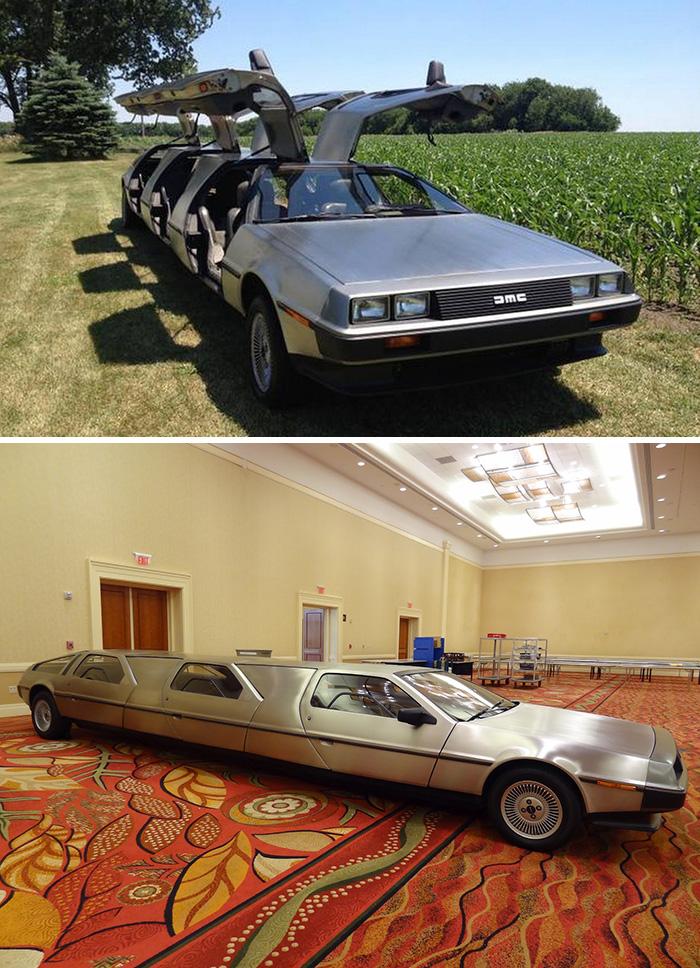 #7. DeLorean Limo