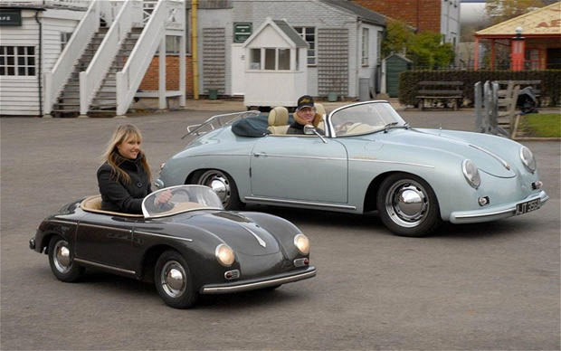 #7. Scaled-Down Porsche 356