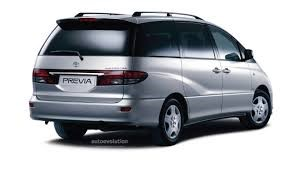 Toyota Previa - The Most Practical Mid-Engine Cars