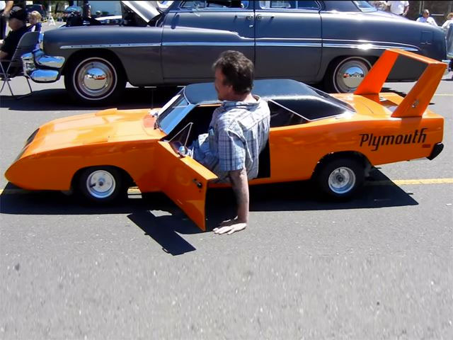 #8. Mini Plymouth Superbird