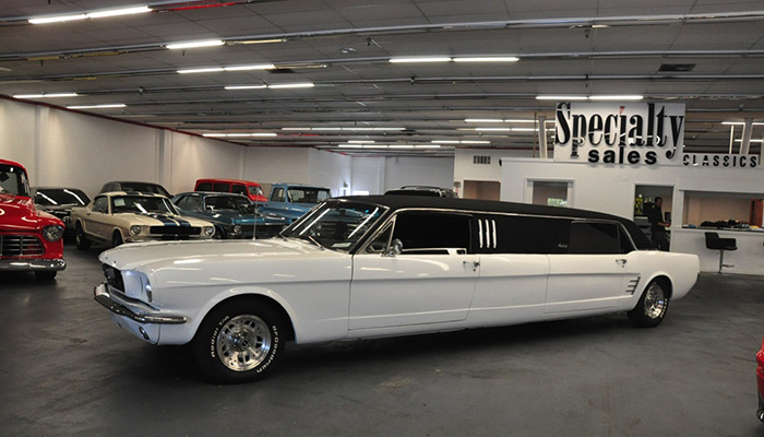 #9. The Classic Ford Mustang Limo