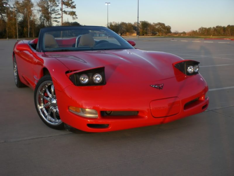 Cars With Pop-Up Headlights: Chevrolet Corvette