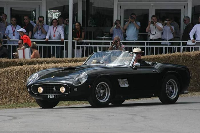 Chris Evans Driving A California Spider