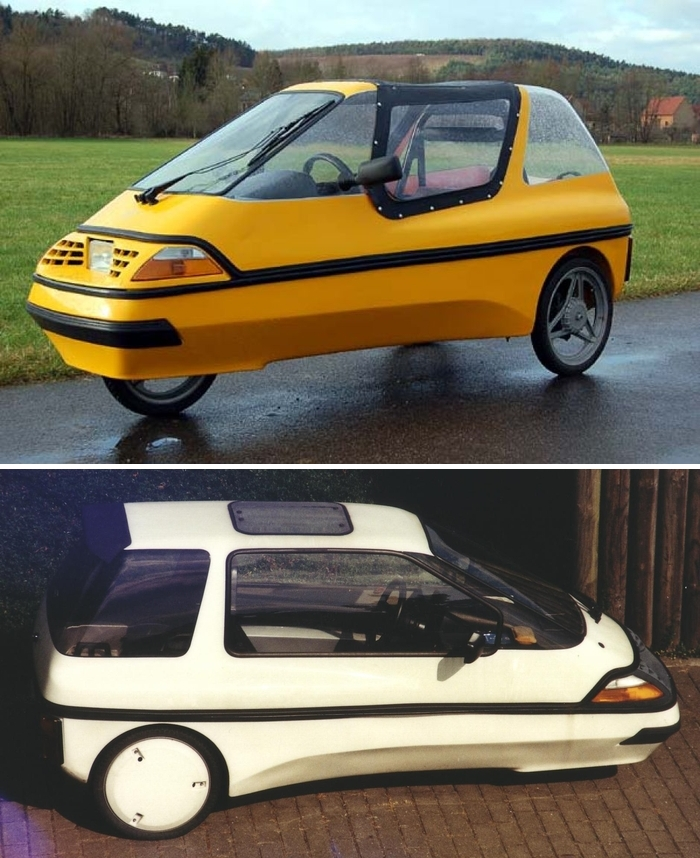 The City El is one of the smallest micro cars that ever went into production