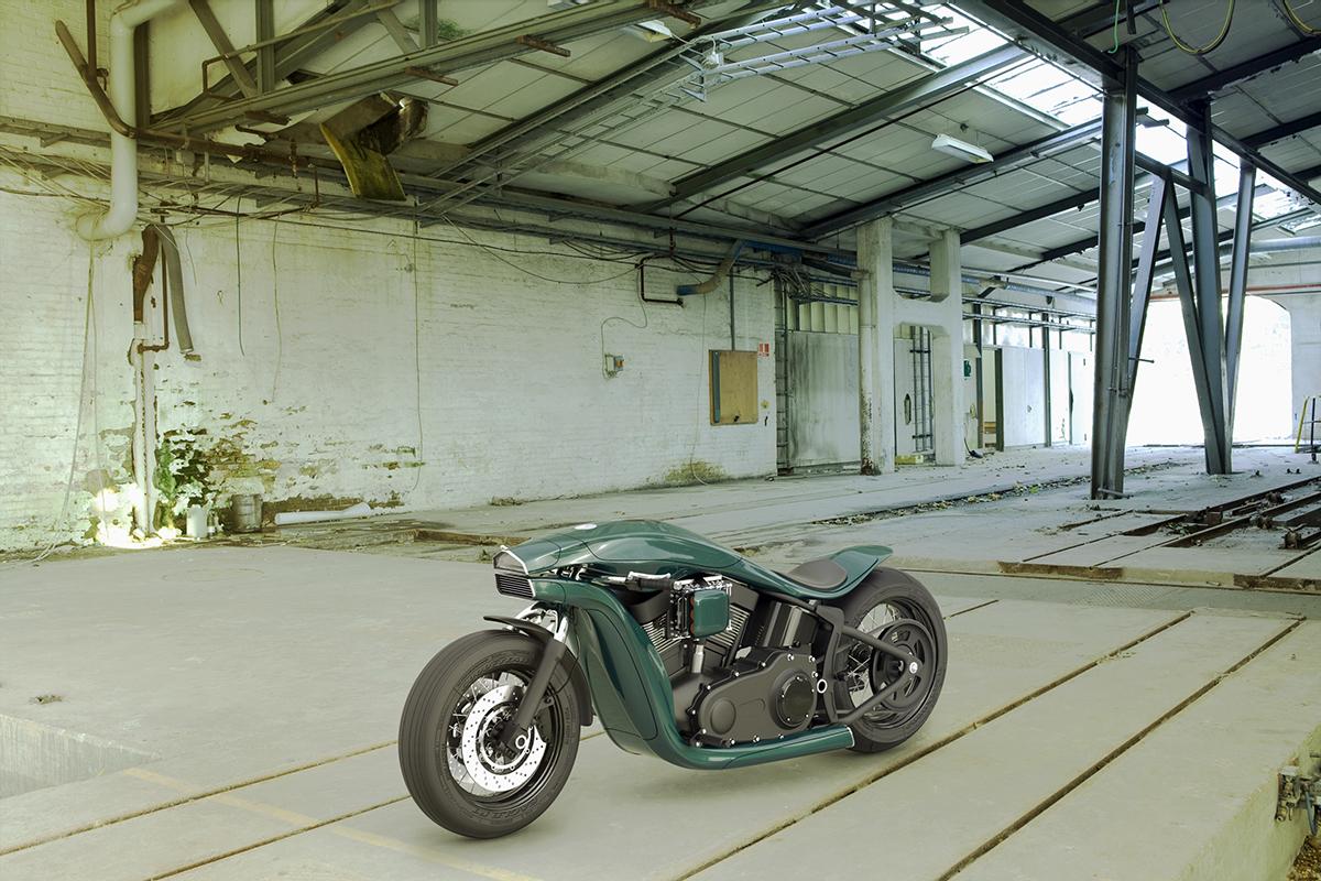 Harley Davidson Softail Concept 8