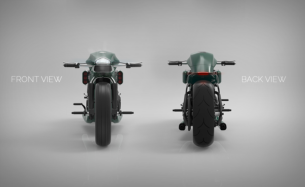 Harley Davidson Softail Concept 5