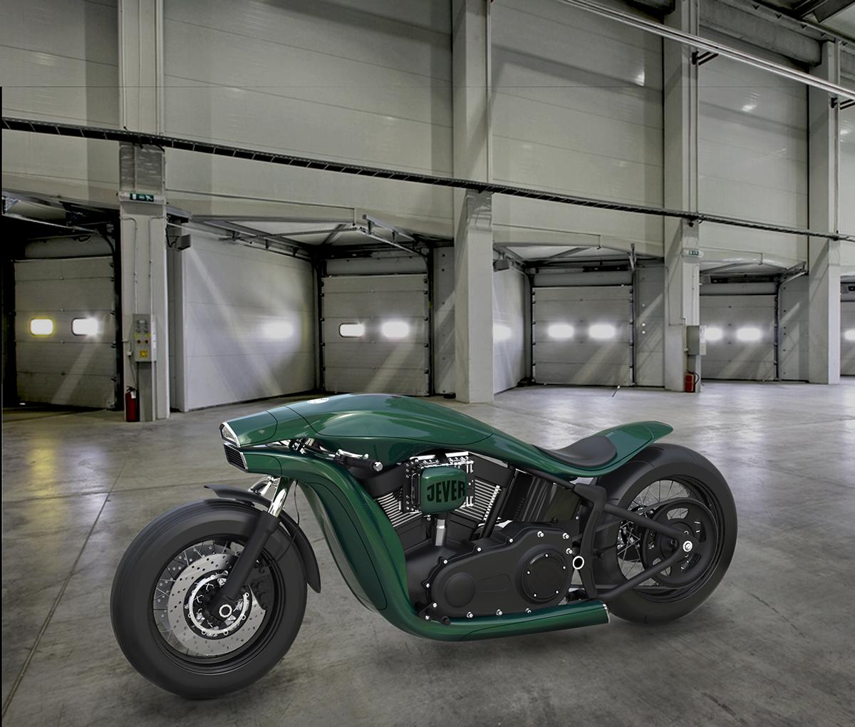 Harley Davidson Softail Concept 4