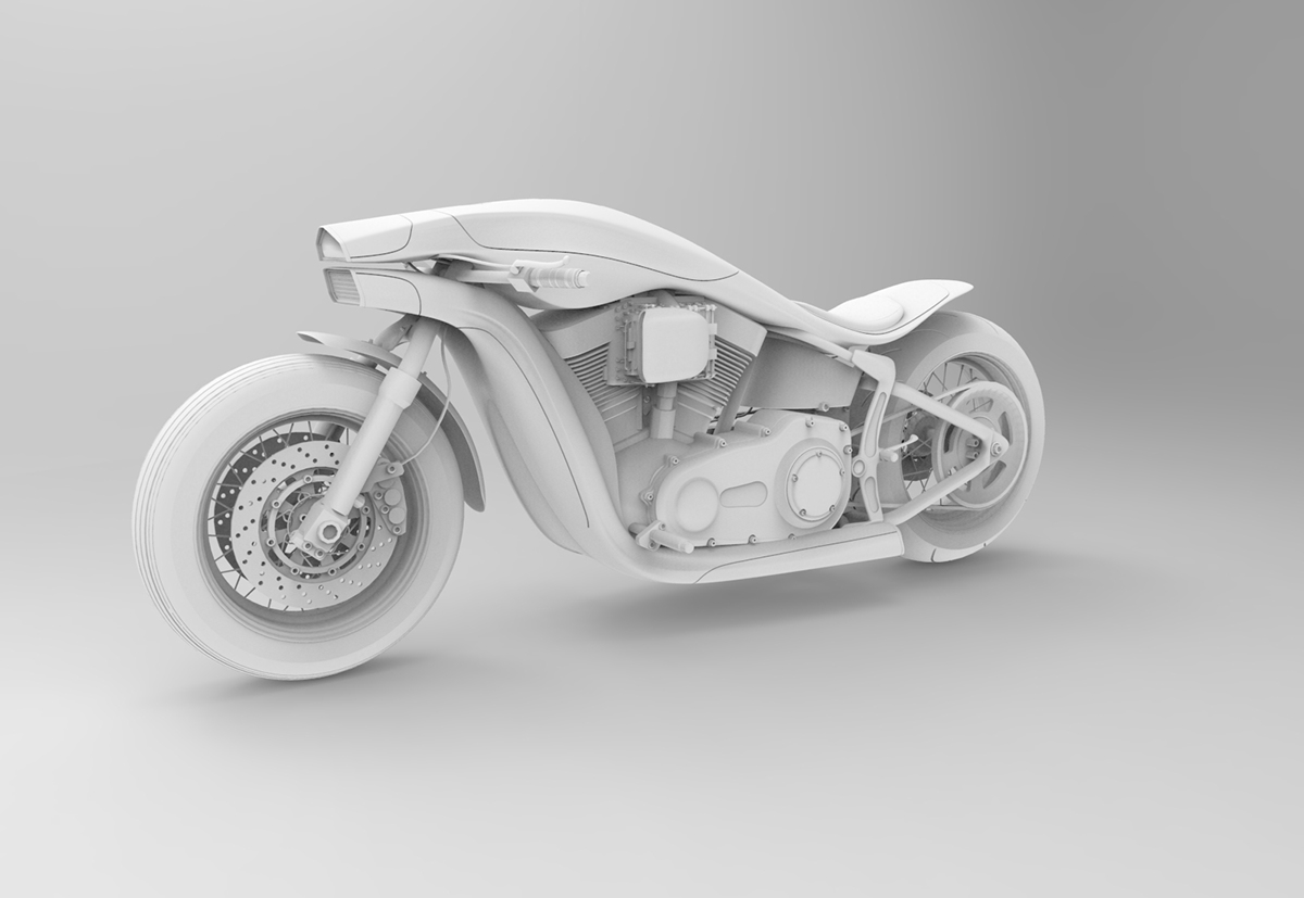 Harley Davidson Softail Concept 9