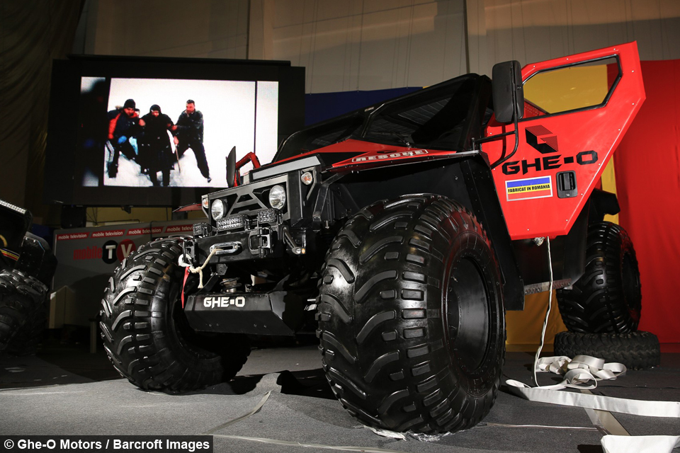 Romanian Ghe-O Motors Company Makes an Extreme Rescue Vehicle Prototype