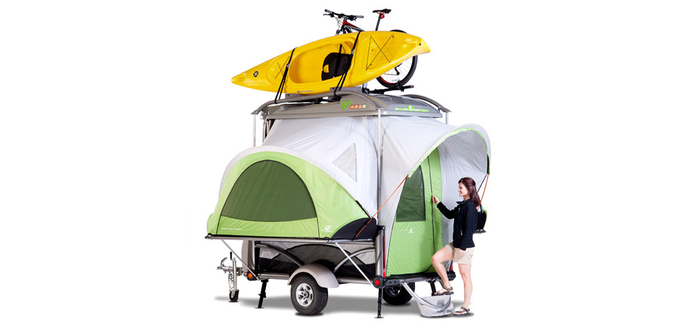 Go Camp Adventure Trailer Top Tent