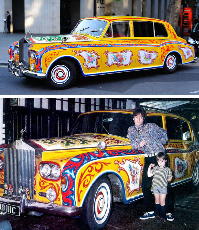 Celebrity Cars – John Lennon – Rolls Royce Phantom V