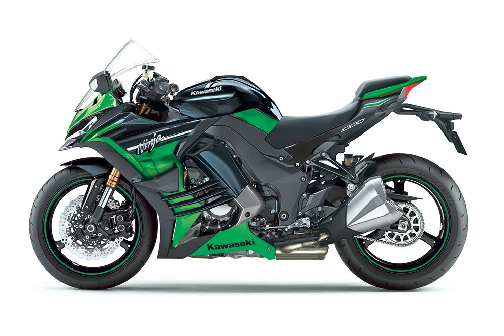 Kawasakis Brand New Ninja 1000 Patents