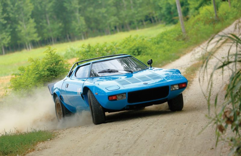 Cars With Pop-Up Headlights: Lancia Stratos
