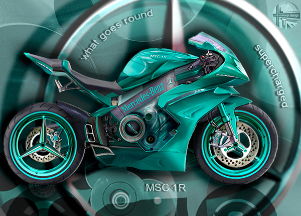 Mercedes Motorcycle 4