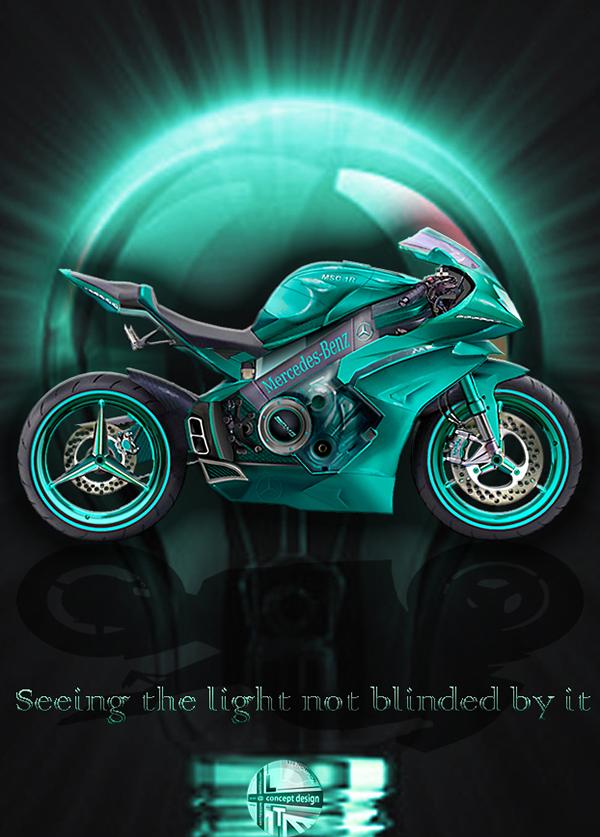 Mercedes Motorcycle 5